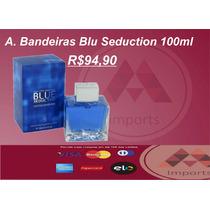 Perfume Blue Seduction 100ml Edt Antonio Bandeiras Masculino