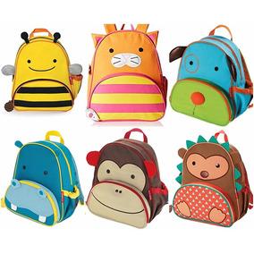 Mochila Skip Hop Zoo Animais Original Escolar Crianças Bebês