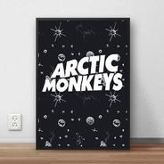 Quadro Decorativo Artic Monkeys Premium