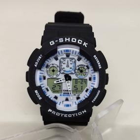 04493f77e66 Relogio Atlantis Gshock Branco Quadrado Mud Resist - Relógios no ...