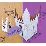 El Castillo Gigante De Carton Para Armar Y Pintar