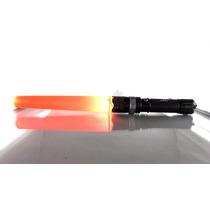 Lámpara Led Zoom Con Cono Naranja Precacución Recargable Msi