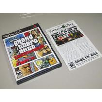 Ps2 Gta Liberty City Stories Original Black Label Americano!