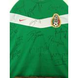 Playera Nike Selección Mexicana Autografiada Nueva