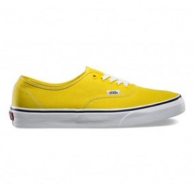 Tenis Vans Authentic Vibrant Yellow True White L2d