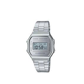 6a05026e952 Relógio Casio Original Prata Moda Vintage Unissex Garantia