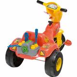 Motoca Grande Menino Triciclo Mecânico / Baby / Cargo