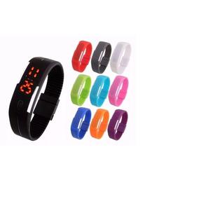 Kit 20 Relógios Pulseira Led Watch /2 Baterias/sem Marca