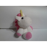 Unicornios Tejidos Crochet Amigurumis Souvenirs 1 Añito