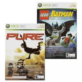 Lego Batman The Videogame + Pure - Xbox 360 + Frete Grátis