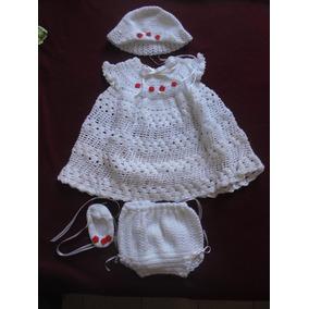 Vestidos Hermosos Tejidos Crochet A Mano Y En Tela