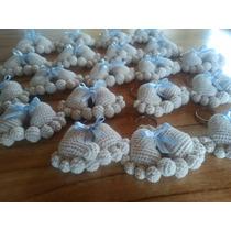 Llaveros Souvenir! Piesito Tejidos Al Crochet