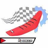 Capa De Banco Honda Crfx-r 250/450 Vermelho C/ Preto Biker