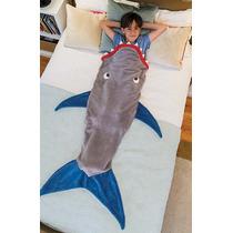 Frazada Con Forma De Tiburon Y De Cola Sirena Providencia
