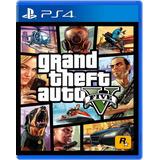 Juego Gta V Grand Theft Auto V Ps4 Fisico Sellado Original
