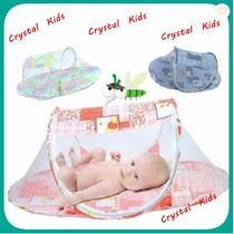 Cama Berço Mosquiteiro Portátil C/ Zíper Berço Enxoval Bebê