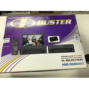 Dvd Retratil H Buster Hbd 9680 Avtv Tv Digital Câmera De Ré