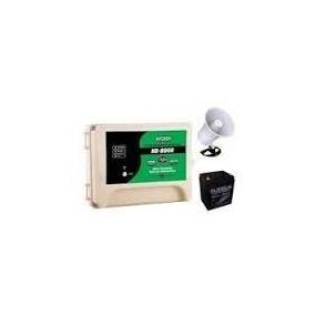 Energizador Cerco Electrico Kit Hagroy Hr-8000