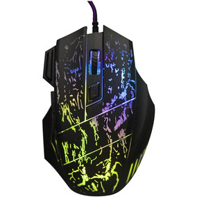 Mouse Gamer 5500 Dpi 7 Botones Led Usb Alambrico
