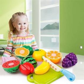 Brinquedo Pedagógico - Kit Frutinha/legume Corte 11 Peças #