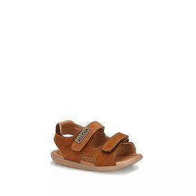 Sandalia Ankle Strap Niño Café 2538228
