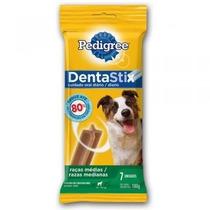 Osso Dentastix Pedigree 7 Unidades Cães Raças Médias 180g