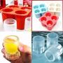 Forma De Gelo Formato Copos - Drink, Bebidas - Ice Shots