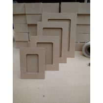 10 Porta Retrato Fibro Facil Para Foto D 7.5x10 Cm Souvenirs