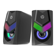 Parlante Gamer Rgb Hp Dhe-6000 6w Stereo - Revogames
