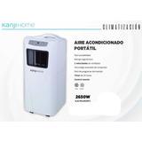 Aire Acondicionado Portatil Kanji 2650 Frío/calor 2650w Gtia