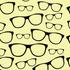 nº 021 Oculos Fundo Amarelo