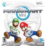 Mario Kart Wii Con Wii Wheel