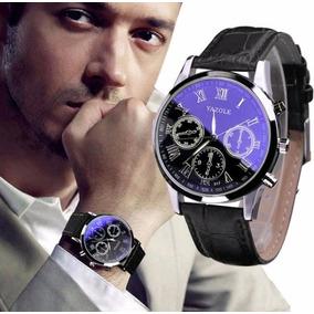 Relógio De Pulso Yazole Original Masculino Social Quartz