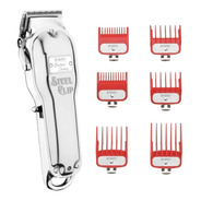 Corta Pelo Profesional Inalambrica Bway Steel Clip Barbero
