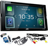 Jvc Kw-v830bt Android Auto / Apple Carplay Cd / Dvd Con...