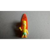 Muñequito Jack Simpson Bart Surf Cajita No Envio