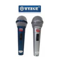 Par De Microfone Profissional Wg 2008 Com Fio Unidirecional