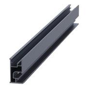 Riel 7 2100 Mm Aluminio Anodizado