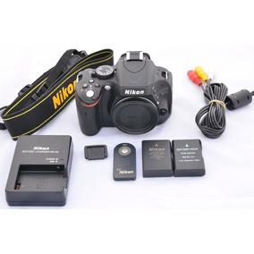 Corpo Nikon D5100 Apenas 9.6cliks
