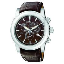 Cronógrafo Acero Reloj At X Eco-drive Citizen De Hombre