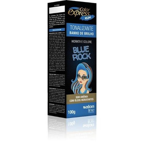 Tonalizante Color Express Fun Blue Rock 100ml - Salon Line