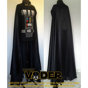 Fantasia Darth Vader Capa Adulto Star Wars Cosplay