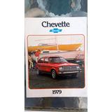 Catalogo Brochure Chevrolet Chevette 1979