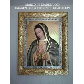 Cuadro Hoja De Oro Busto De La Virgen De Guadalupe
