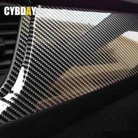 Envelopamento Vinil Fibra De Carbono 5d Gloss C/ 1m X 1,52m