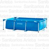 Pileta Intex Estructural Rectangular 260x160x65cm 2282lts