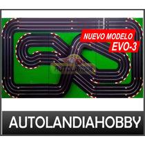 Autolandia Pista Autos Scalextric 3 Vias Super Completa!!!