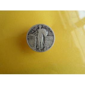 Moneda Antigua 25 Centavos Dolar 1926 Envio Gratis!!!