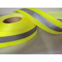 Faixa Refletiva P/uniformes Com Tecido 20mts 5cm