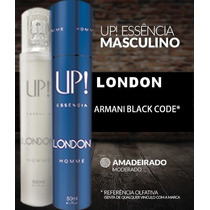 Up Essência London Nº 35 Perf. Masculino (armani Black Code)